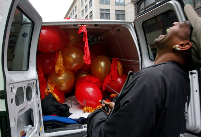 Balloon Delivery Man