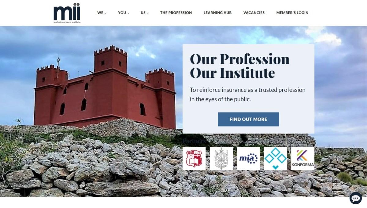 Malta Insurance Institute Home Page