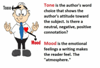 Tone and Mood - Bellevue Public Schools High Ability Learners