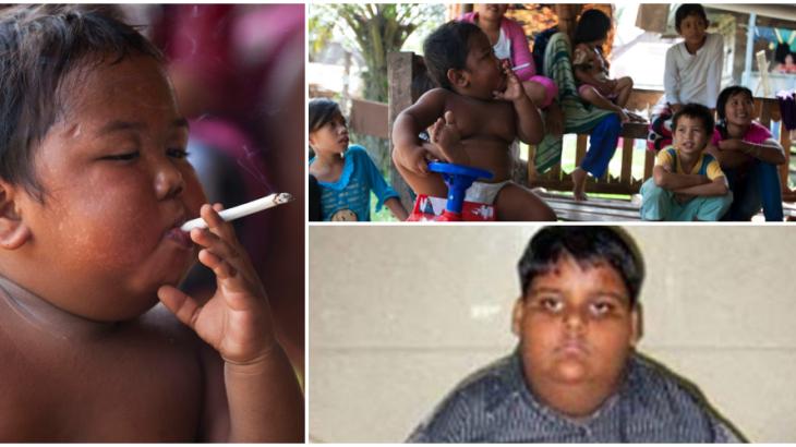 2歳でタバコ1日40本!?8歳のヘビースモーカーが禁煙に成功