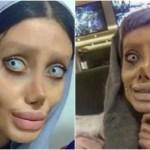 憧れすぎて整形手術50回!イランのアンジェリーナ・ジョリーに驚愕