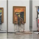 「芸術はドロドロだ!」有名絵画を溶かしてしまう必見フェチアート