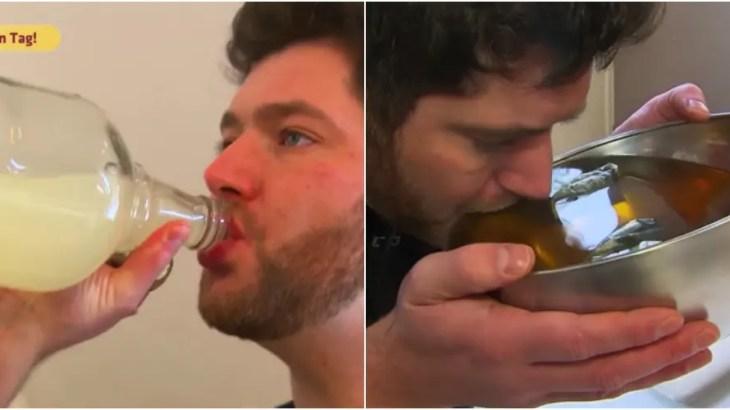 毎日20リットルの水を飲み続けないといけない男