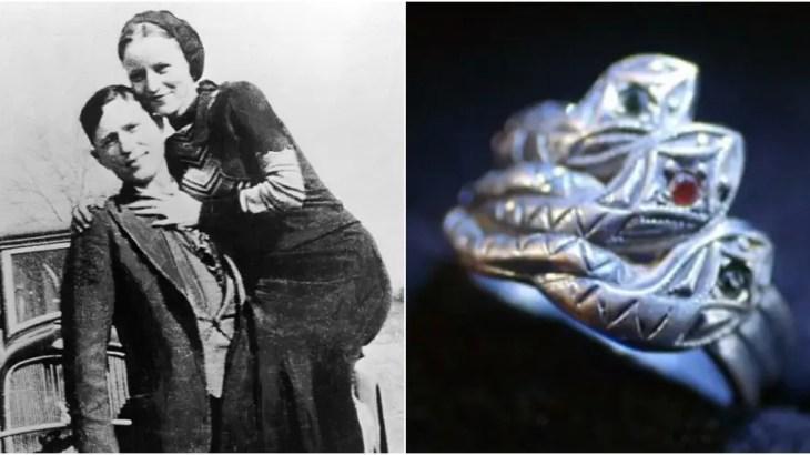 犯罪史に残るお宝発掘!ボニー&クライドの結婚指輪と保安官の奇妙な物語