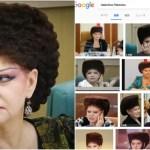 「まるで007の悪役」ロシア最強ヘアスタイル女性議員に世界が恐怖