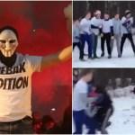 「乱闘はスポーツ!」ロシアンフーリガンはW杯に向け暴動スキルを磨く