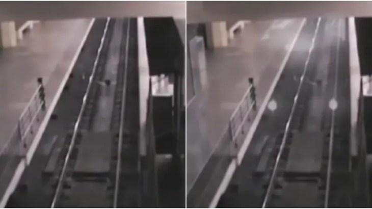 あの世行き「幽霊列車」を監視カメラが撮影成功!海外の心霊動画まとめ