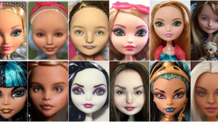 激盛りメイク人形のスッピン加工職人「欠点が見えるから美しい」