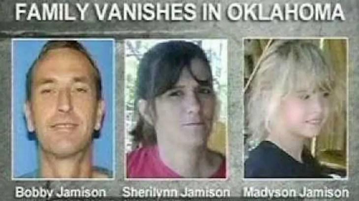 ジャミソン一家失踪事件未解決