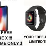 SNSの罠「iPhoneX無料プレゼント詐欺」で個人情報が盗まれる