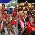 店員がセクシー女装マッチョマンだらけのムキムキ飲食店がバンコクで大繁盛