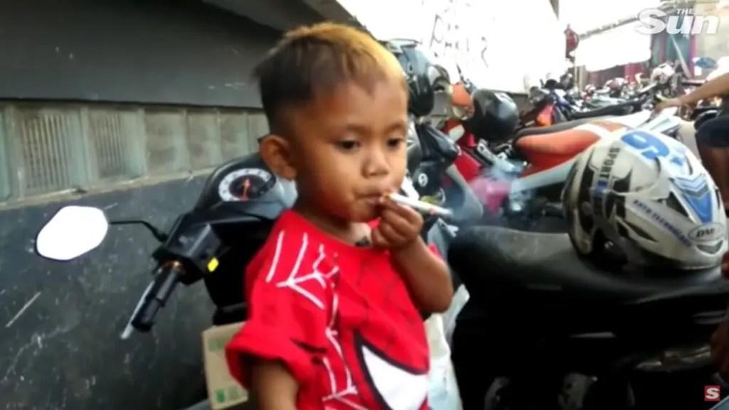 2歳のヘビースモーカー