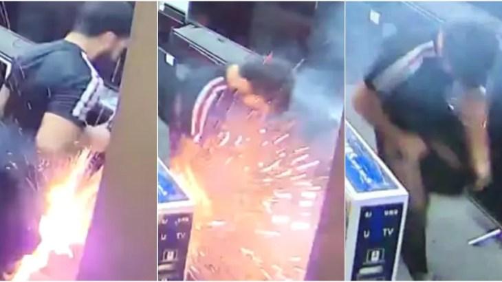 衝撃!電子タバコがポケットの中で大爆発の瞬間!VAPE爆発動画まとめ