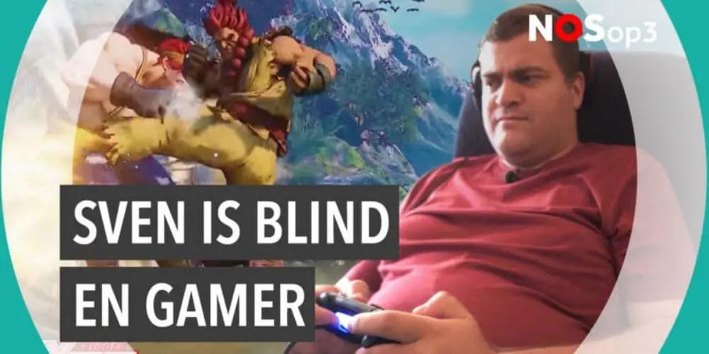 盲目の格闘ゲーマースヴェン