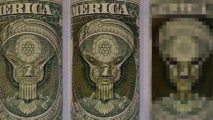 【都市伝説】1ドル紙幣に宇宙人が隠れていた!世界の金融は地球外生命体の手の中
