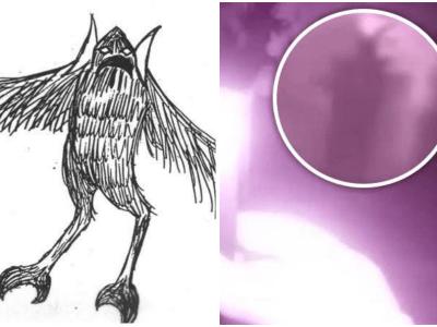 伝説の妖怪フクロウ男の目撃情報