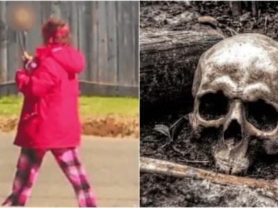 女性ホームレスと身元不明の頭蓋骨の謎