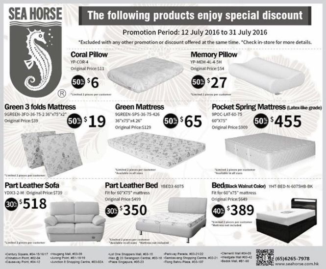 Tatami Futon Mattresses Source District Singapore Promotion Period Till July 31