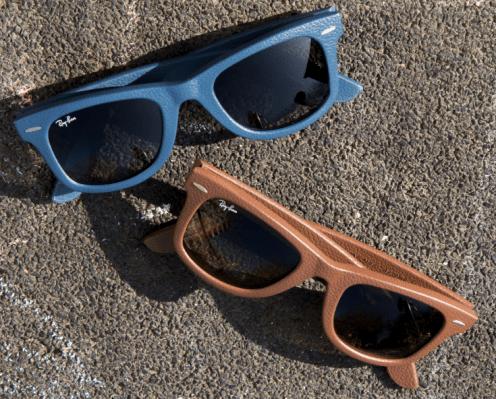 0d2d336cf A qualidade premium dos óculosLeather Wayfarer faz esses óculos se  destacarem entre as outras versões mais originais do Wayfarer Original.