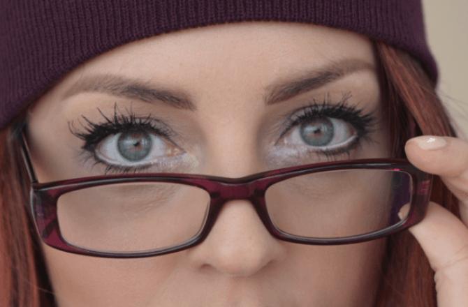 #MinhaMelhorVisão: Usar óculos óculos é a nova moda.