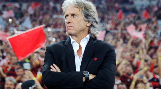 Jorge Jesus voltou a citar o Flamengo e irritou torcedores do Benfica
