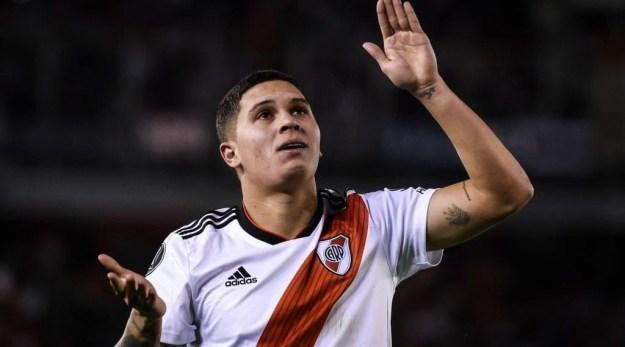 Quintero: se destacou no River Plate (Foto: Getty Images/Argentina/Marcelo Endelli)