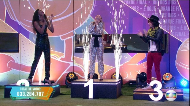 Fiuk ficou em terceiro lugar. (Foto: Globo)