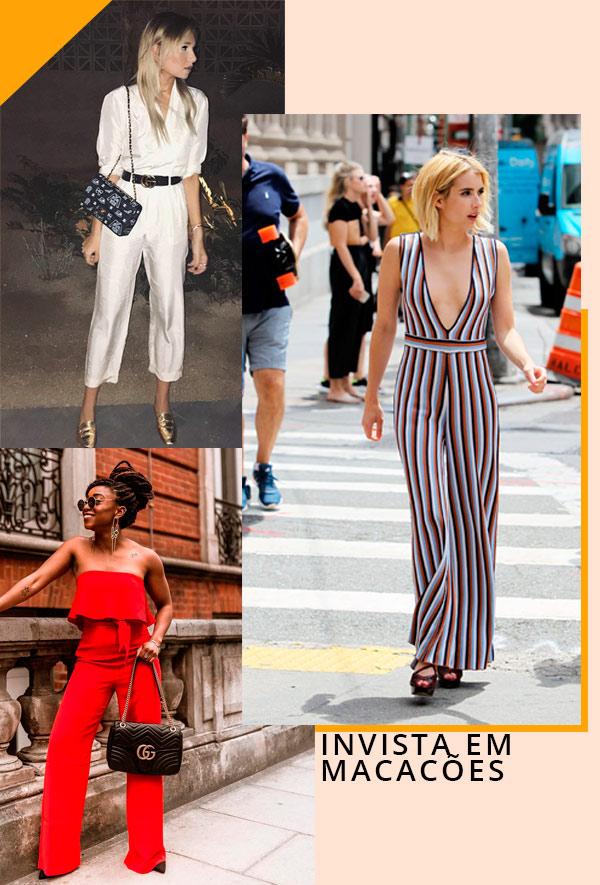 Danielle Bernstein, Emma Roberts, Uzy Nwachukwu - macacão - macacão - verão - street-style