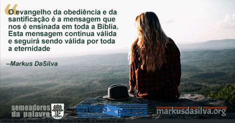Moca olhando de cima de uma montanha com texto Recusando A Salvação (O Evangelho de Jesus)