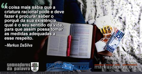 Mulher lendo na cama com a Biblia no colo com Estudo Bíblico : O Sentido da Vida - O Objetivo Último - Markus DaSilva
