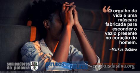 Foto de uma mulher com tatuagem pensando Estudo Bíblico - (Parte 4) Não Ameis o Mundo - O Orgulho da Vida - Markus DaSilva