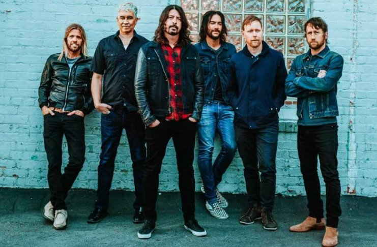 Foo Fighters, Joe Perry e Liam Gallagher