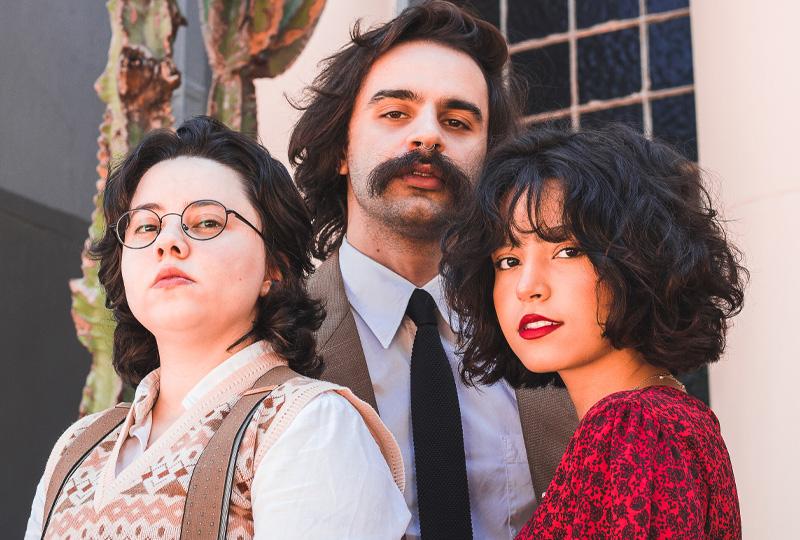 Rodrigo Alarcon, Ana Muller, Mariana Froes