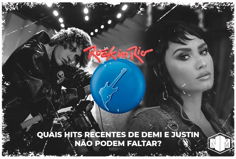 Rock in Rio: Justin Bieber e Demi Lovato