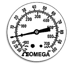 Standard Dials for Comercial and Panel Gauges
