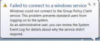 Falha Ao Conectar a Um Serviço Do Windows