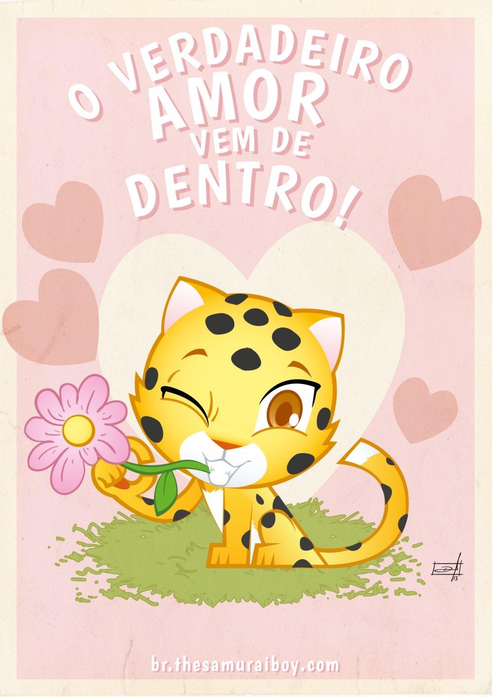 Poster grátis: O verdadeiro amor vem de dentro