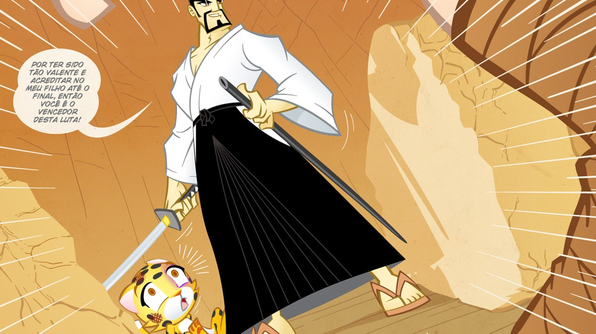Samurai Boy S03E16 - O vencedor desta luta