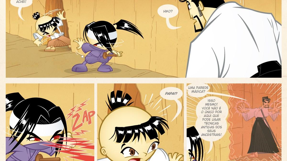Samurai Boy S03E20 - Parede Mágica