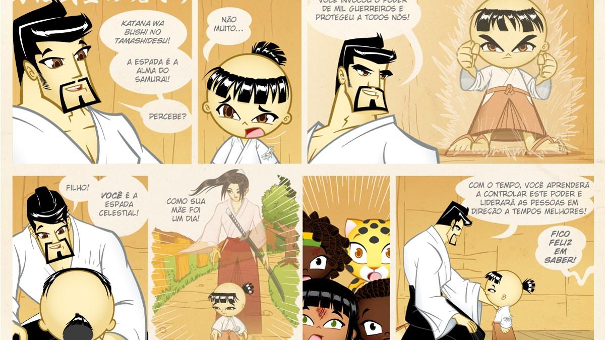 Samurai Boy S03E31 - Liderar as pessoas em direção a tempos melhores