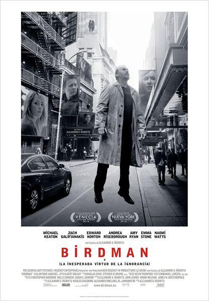 Birdman ou (A Inesperada Virtude da Ignorância) : Poster