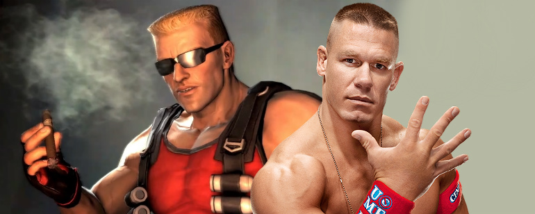 John Cena como Duke Nukem
