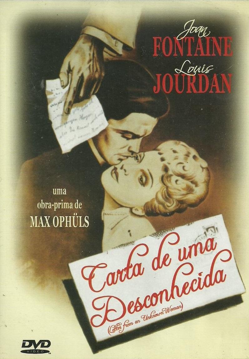 Resultado de imagen de cartaz filme carta de uma desconhecida em português