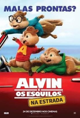 Alvin e os Esquilos: Na Estrada : Poster