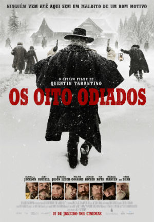 Os Oito Odiados : Poster