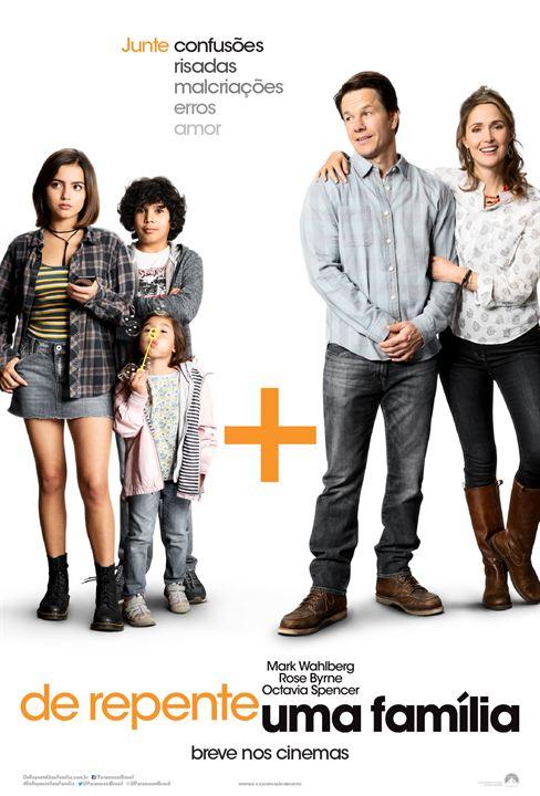 Resultado de imagem para de repente uma família poster