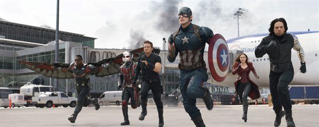 Resultado de imagem para Capitão América: Guerra Civil cenas