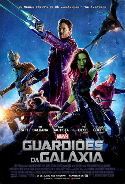 Guardiões da Galáxia : Poster