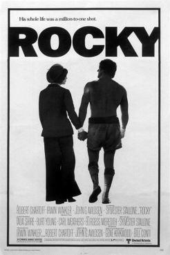 Rocky, um Lutador : Poster
