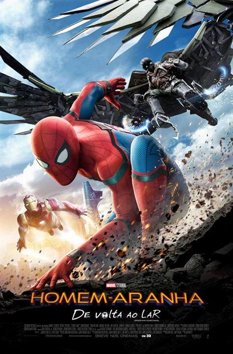Homem-Aranha: De Volta ao Lar : Poster